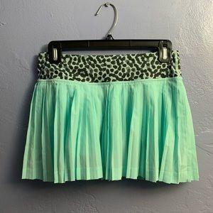 Lululemon Pleat To Street Skirt Leopard